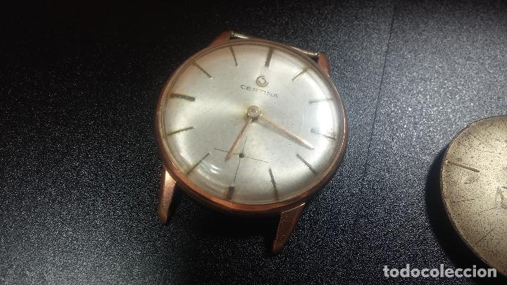 Relojes de pulsera: Dos botitos reloj o relojes Certina con maquinarias diferentes, parecen que funcionan bien, pero.... - Foto 3 - 125245055