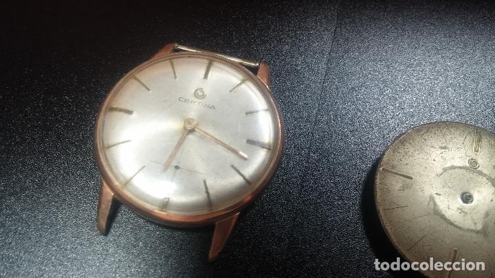 Relojes de pulsera: Dos botitos reloj o relojes Certina con maquinarias diferentes, parecen que funcionan bien, pero.... - Foto 5 - 125245055