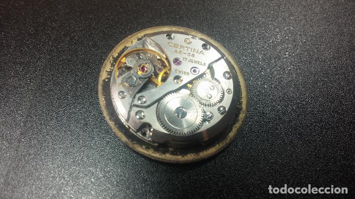 Relojes de pulsera: Dos botitos reloj o relojes Certina con maquinarias diferentes, parecen que funcionan bien, pero.... - Foto 7 - 125245055