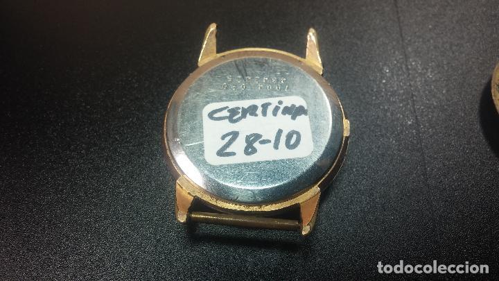 Relojes de pulsera: Dos botitos reloj o relojes Certina con maquinarias diferentes, parecen que funcionan bien, pero.... - Foto 11 - 125245055