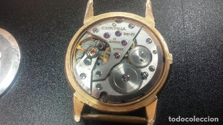 Relojes de pulsera: Dos botitos reloj o relojes Certina con maquinarias diferentes, parecen que funcionan bien, pero.... - Foto 16 - 125245055