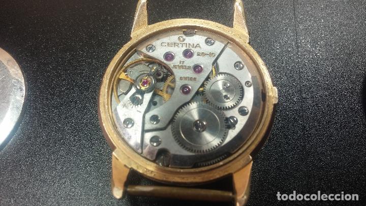 Relojes de pulsera: Dos botitos reloj o relojes Certina con maquinarias diferentes, parecen que funcionan bien, pero.... - Foto 17 - 125245055