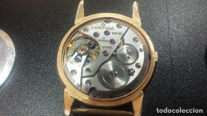 Relojes de pulsera: Dos botitos reloj o relojes Certina con maquinarias diferentes, parecen que funcionan bien, pero.... - Foto 18 - 125245055