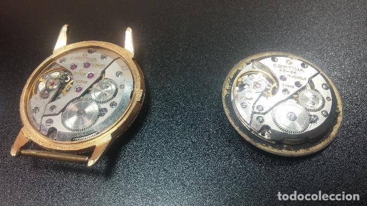 Relojes de pulsera: Dos botitos reloj o relojes Certina con maquinarias diferentes, parecen que funcionan bien, pero.... - Foto 19 - 125245055