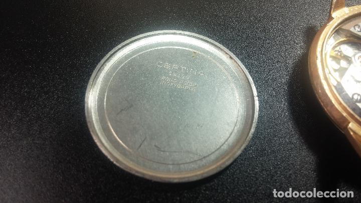 Relojes de pulsera: Dos botitos reloj o relojes Certina con maquinarias diferentes, parecen que funcionan bien, pero.... - Foto 20 - 125245055
