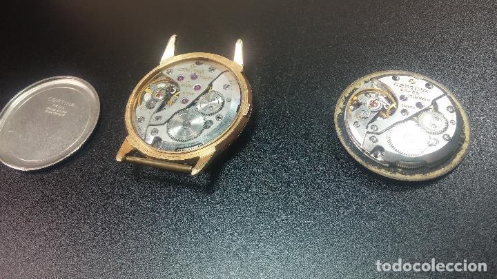 Relojes de pulsera: Dos botitos reloj o relojes Certina con maquinarias diferentes, parecen que funcionan bien, pero.... - Foto 24 - 125245055