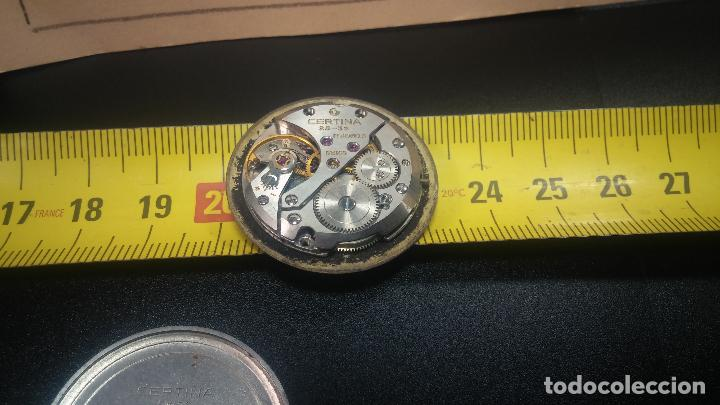 Relojes de pulsera: Dos botitos reloj o relojes Certina con maquinarias diferentes, parecen que funcionan bien, pero.... - Foto 25 - 125245055