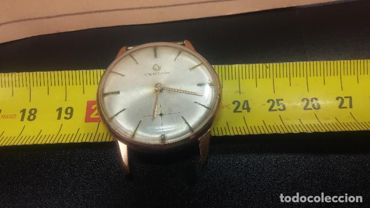 Relojes de pulsera: Dos botitos reloj o relojes Certina con maquinarias diferentes, parecen que funcionan bien, pero.... - Foto 33 - 125245055