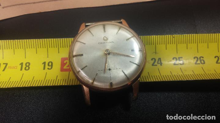Relojes de pulsera: Dos botitos reloj o relojes Certina con maquinarias diferentes, parecen que funcionan bien, pero.... - Foto 35 - 125245055
