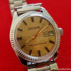 Armbanduhren - RELOJ CETIKON DE CUERDA VINTAGE, C1970 NOS (NEW OLD STOCK) - 125327531