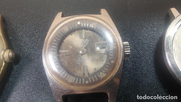 Relojes de pulsera: BOTITO LOTE DE 4 relojes, para reparar o piezas, antiguos, 2 AUTOMÁTICOS Y 2 DE CUERDA - Foto 2 - 125974967