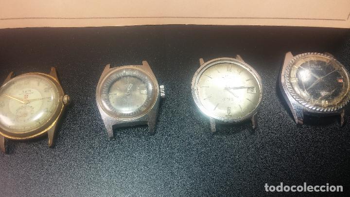 Relojes de pulsera: BOTITO LOTE DE 4 relojes, para reparar o piezas, antiguos, 2 AUTOMÁTICOS Y 2 DE CUERDA - Foto 8 - 125974967