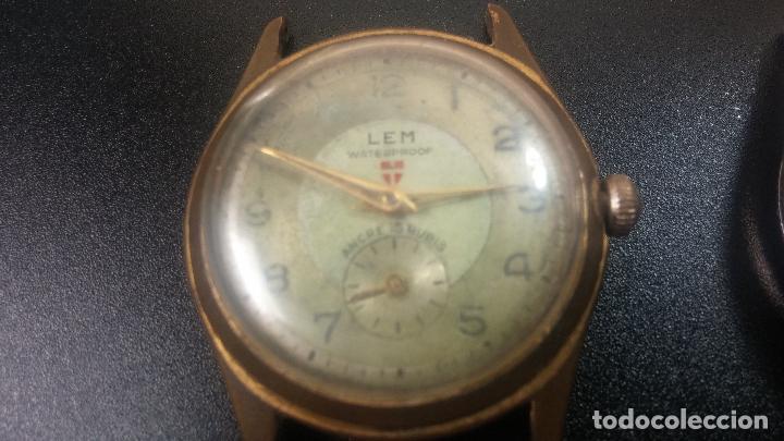Relojes de pulsera: BOTITO LOTE DE 4 relojes, para reparar o piezas, antiguos, 2 AUTOMÁTICOS Y 2 DE CUERDA - Foto 9 - 125974967