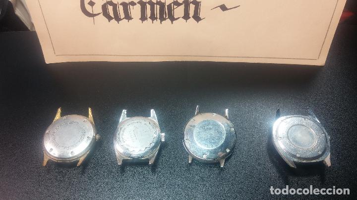 Relojes de pulsera: BOTITO LOTE DE 4 relojes, para reparar o piezas, antiguos, 2 AUTOMÁTICOS Y 2 DE CUERDA - Foto 10 - 125974967