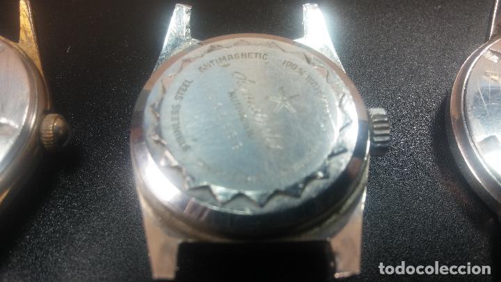Relojes de pulsera: BOTITO LOTE DE 4 relojes, para reparar o piezas, antiguos, 2 AUTOMÁTICOS Y 2 DE CUERDA - Foto 13 - 125974967