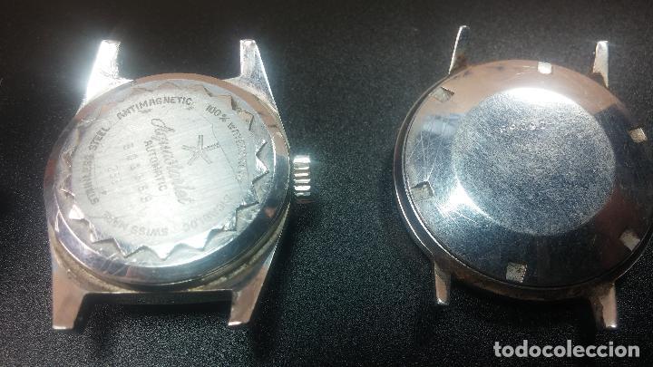 Relojes de pulsera: BOTITO LOTE DE 4 relojes, para reparar o piezas, antiguos, 2 AUTOMÁTICOS Y 2 DE CUERDA - Foto 16 - 125974967