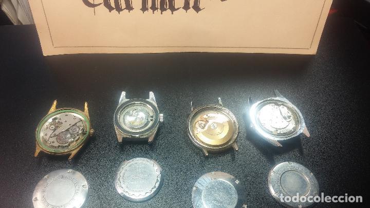 Relojes de pulsera: BOTITO LOTE DE 4 relojes, para reparar o piezas, antiguos, 2 AUTOMÁTICOS Y 2 DE CUERDA - Foto 18 - 125974967
