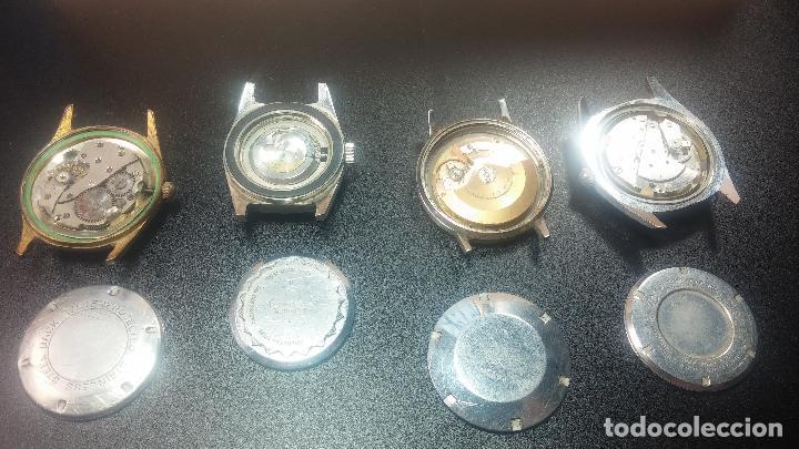 Relojes de pulsera: BOTITO LOTE DE 4 relojes, para reparar o piezas, antiguos, 2 AUTOMÁTICOS Y 2 DE CUERDA - Foto 19 - 125974967