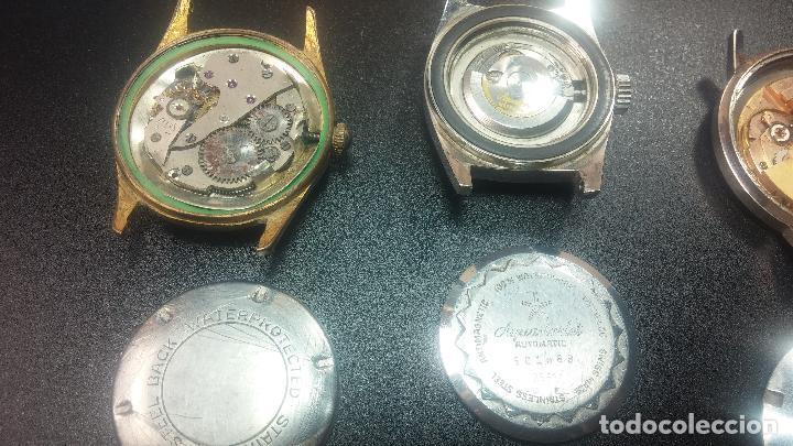 Relojes de pulsera: BOTITO LOTE DE 4 relojes, para reparar o piezas, antiguos, 2 AUTOMÁTICOS Y 2 DE CUERDA - Foto 20 - 125974967