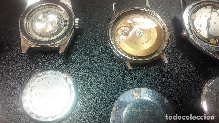 Relojes de pulsera: BOTITO LOTE DE 4 relojes, para reparar o piezas, antiguos, 2 AUTOMÁTICOS Y 2 DE CUERDA - Foto 21 - 125974967