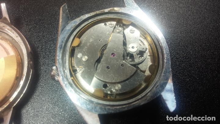 Relojes de pulsera: BOTITO LOTE DE 4 relojes, para reparar o piezas, antiguos, 2 AUTOMÁTICOS Y 2 DE CUERDA - Foto 23 - 125974967