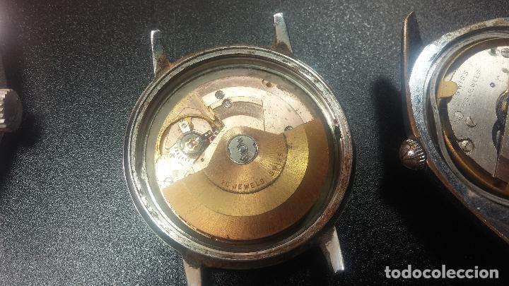 Relojes de pulsera: BOTITO LOTE DE 4 relojes, para reparar o piezas, antiguos, 2 AUTOMÁTICOS Y 2 DE CUERDA - Foto 24 - 125974967