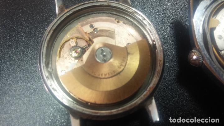 Relojes de pulsera: BOTITO LOTE DE 4 relojes, para reparar o piezas, antiguos, 2 AUTOMÁTICOS Y 2 DE CUERDA - Foto 25 - 125974967