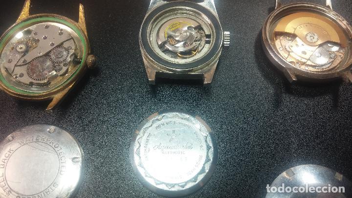 Relojes de pulsera: BOTITO LOTE DE 4 relojes, para reparar o piezas, antiguos, 2 AUTOMÁTICOS Y 2 DE CUERDA - Foto 31 - 125974967