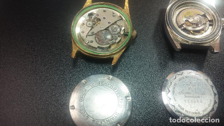 Relojes de pulsera: BOTITO LOTE DE 4 relojes, para reparar o piezas, antiguos, 2 AUTOMÁTICOS Y 2 DE CUERDA - Foto 32 - 125974967