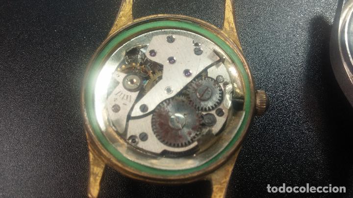 Relojes de pulsera: BOTITO LOTE DE 4 relojes, para reparar o piezas, antiguos, 2 AUTOMÁTICOS Y 2 DE CUERDA - Foto 33 - 125974967