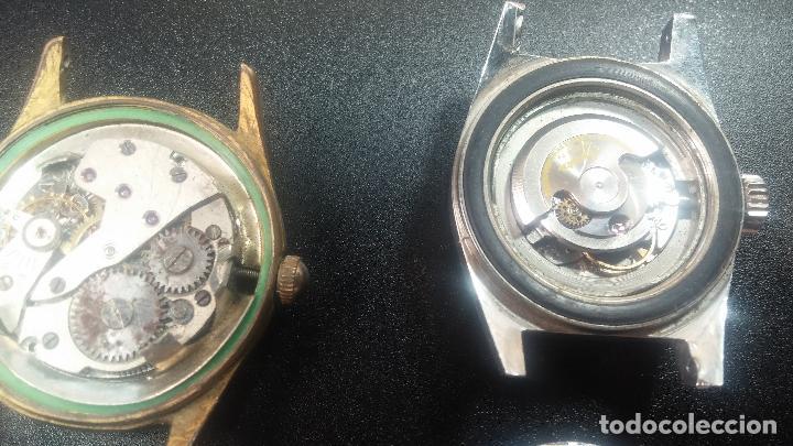 Relojes de pulsera: BOTITO LOTE DE 4 relojes, para reparar o piezas, antiguos, 2 AUTOMÁTICOS Y 2 DE CUERDA - Foto 34 - 125974967