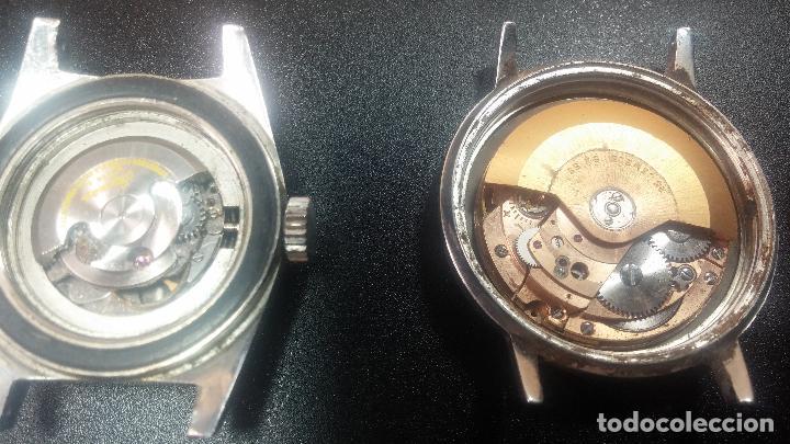 Relojes de pulsera: BOTITO LOTE DE 4 relojes, para reparar o piezas, antiguos, 2 AUTOMÁTICOS Y 2 DE CUERDA - Foto 35 - 125974967
