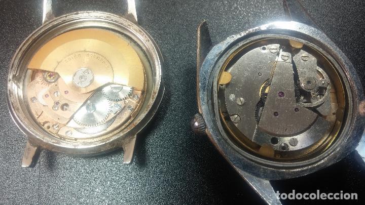 Relojes de pulsera: BOTITO LOTE DE 4 relojes, para reparar o piezas, antiguos, 2 AUTOMÁTICOS Y 2 DE CUERDA - Foto 36 - 125974967