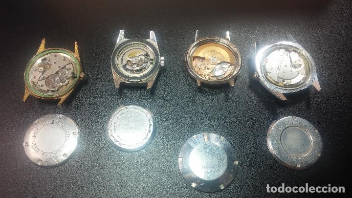 Relojes de pulsera: BOTITO LOTE DE 4 relojes, para reparar o piezas, antiguos, 2 AUTOMÁTICOS Y 2 DE CUERDA - Foto 37 - 125974967