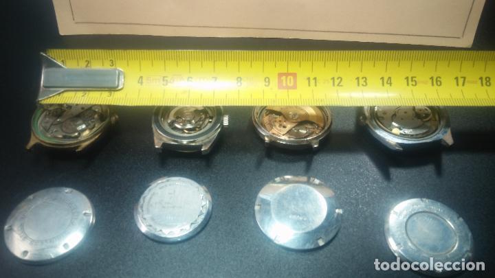 Relojes de pulsera: BOTITO LOTE DE 4 relojes, para reparar o piezas, antiguos, 2 AUTOMÁTICOS Y 2 DE CUERDA - Foto 38 - 125974967
