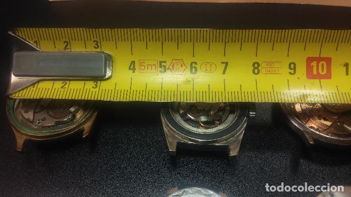 Relojes de pulsera: BOTITO LOTE DE 4 relojes, para reparar o piezas, antiguos, 2 AUTOMÁTICOS Y 2 DE CUERDA - Foto 40 - 125974967
