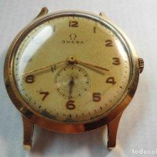 Relojes de pulsera: MAGNIFICO ANTIGUO RELOJ DE ORO DE 18K OMEGA FUNCIONANDO,SALIDA 1 EURO. Lote 126059079