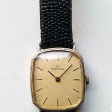 Relojes de pulsera: RELOJ SUIZO CONTINENTAL CARGA MANUAL. Lote 126061652