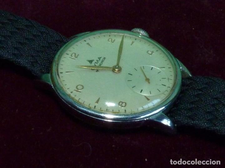 Relojes de pulsera: Precioso reloj CYMA Synchron calibre 586 swiss made 15 rubis años 60 buen tamaño colección vintage - Foto 2 - 126063651