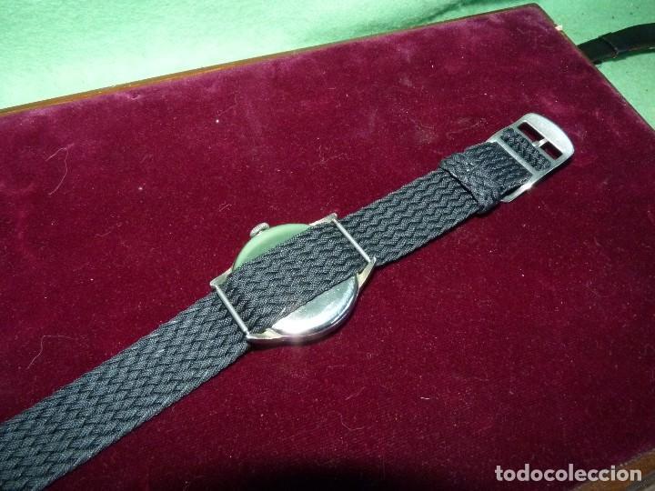 Relojes de pulsera: Precioso reloj CYMA Synchron calibre 586 swiss made 15 rubis años 60 buen tamaño colección vintage - Foto 4 - 126063651