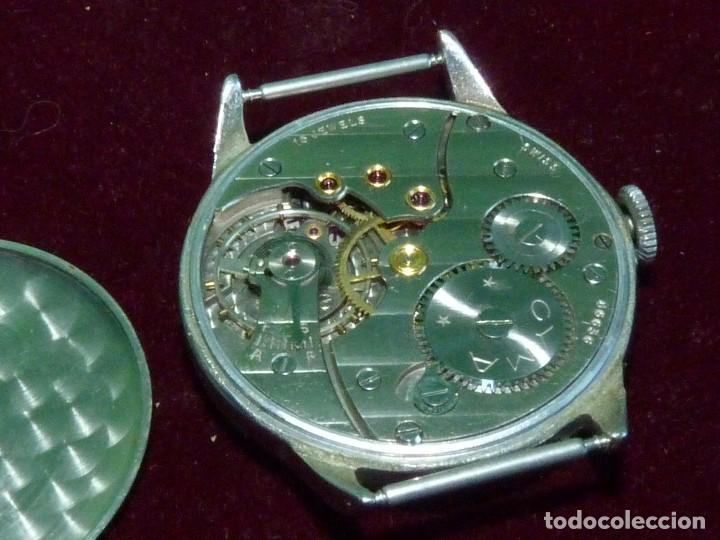 Relojes de pulsera: Precioso reloj CYMA Synchron calibre 586 swiss made 15 rubis años 60 buen tamaño colección vintage - Foto 7 - 126063651