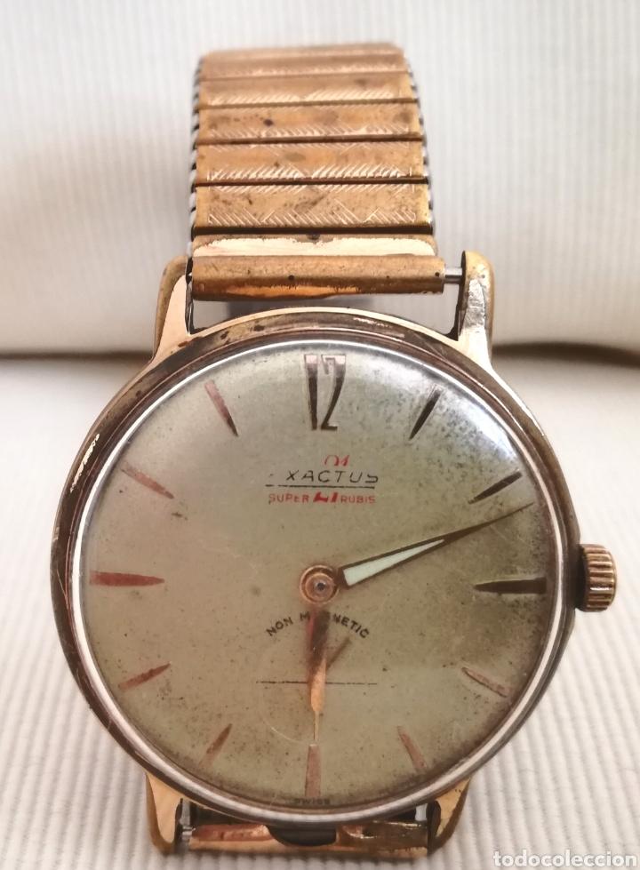 Relojes de pulsera: Antiguo Reloj a Cuerda Exactus 21 Rubies. - Foto 2 - 125144276