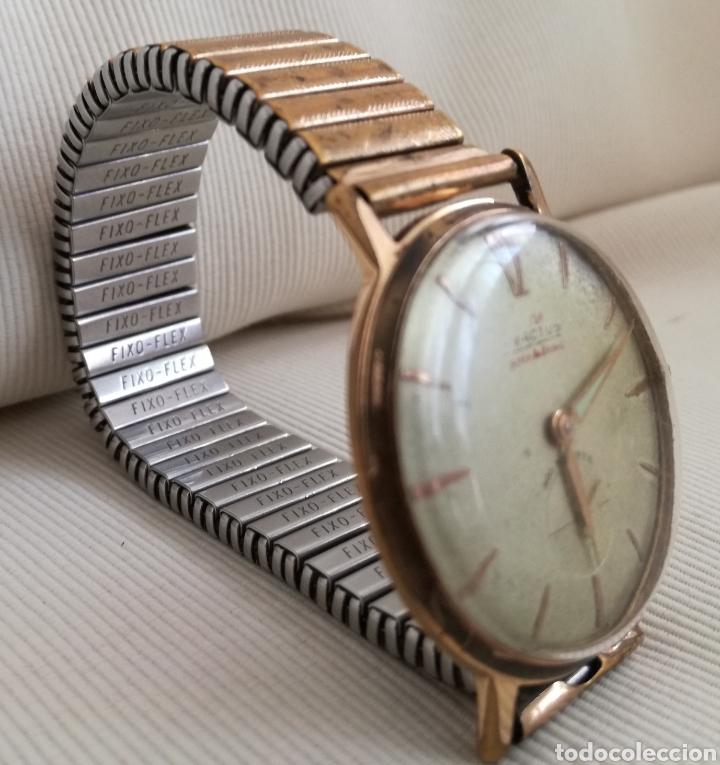 Relojes de pulsera: Antiguo Reloj a Cuerda Exactus 21 Rubies. - Foto 3 - 125144276