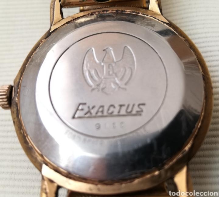 Relojes de pulsera: Antiguo Reloj a Cuerda Exactus 21 Rubies. - Foto 4 - 125144276