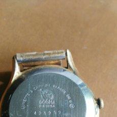 Relojes de pulsera: RELOJ CABALLERO ANTIGUO MARCA DOGMA CHAPADO ORO. Lote 126474167