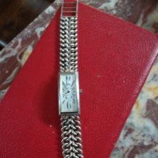 Relojes de pulsera: RELOJ THERMADOR DE CUERDA EN PLATA DE 800 EN MARCHA. Lote 126987256
