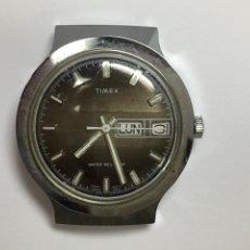 Relojes de pulsera: RELOJ CARGA MANUAL TIMEX DOBLE DIAL PARA PIEZAS. Lote 126994203