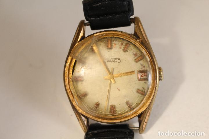 RELOJ MANUAL CHAPADO EN ORO DUWARD 17 JEWELS SWISS MADE (Relojes - Pulsera Carga Manual)