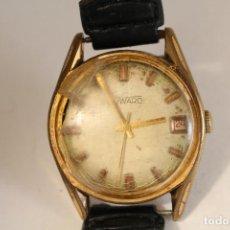 Relojes de pulsera: RELOJ MANUAL CHAPADO EN ORO DUWARD 17 JEWELS SWISS MADE. Lote 127036159