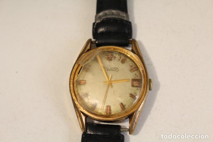 Relojes de pulsera: reloj manual chapado en oro duward 17 jewels swiss made - Foto 2 - 127036159